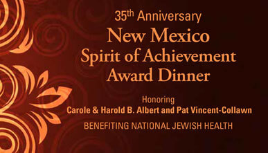 35th Anniversary New Mexico Spirit of Achievement Dinner