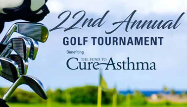 22nd Annual Golf Tournament Benefiting The Fund to Cure Asthma