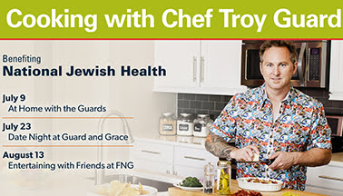 Cooking with Chef Troy Guard - At Home with the Guards
