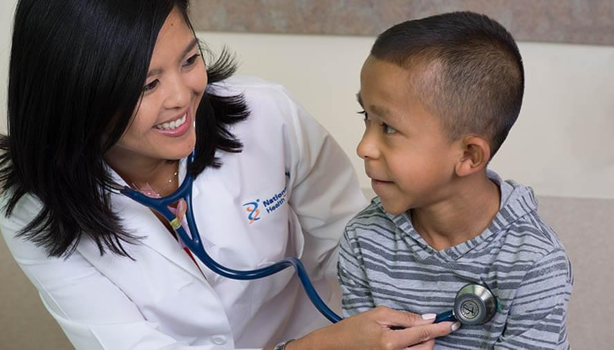 Pediatric Asthma Treatment at National Jewish Health