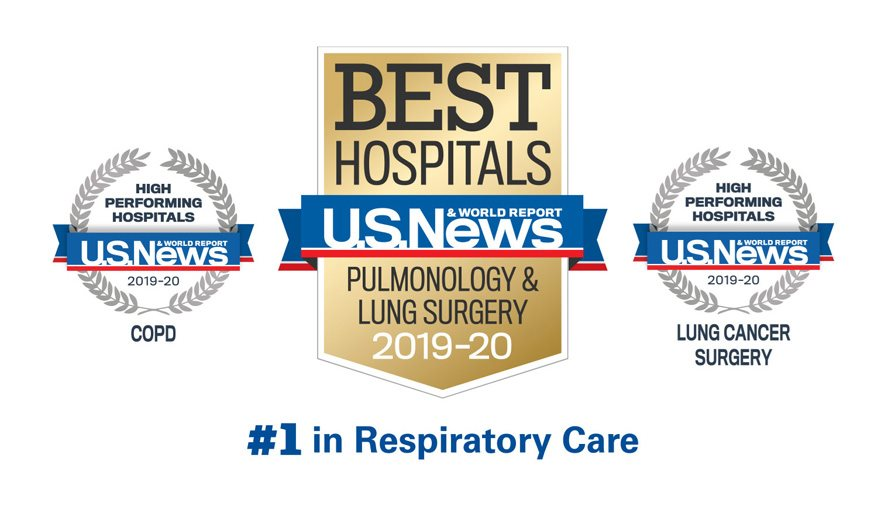 National Jewish Health Ranked Nation's #1 Respiratory Hospital For 18th Year by U.S. News & World Report