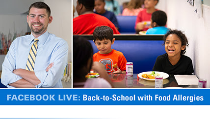 Back-to-School with Food Allergies – Tips from BJ Lanser, MD