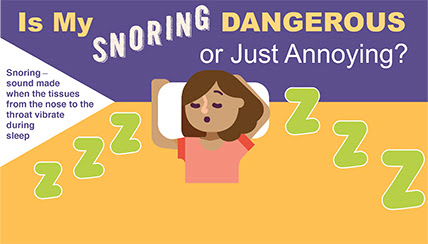 Is My Snoring Dangerous or Just Annoying?