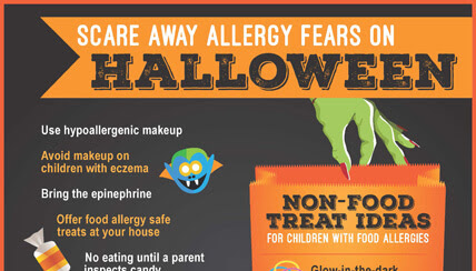 Scare Away Allergy Fears on Halloween