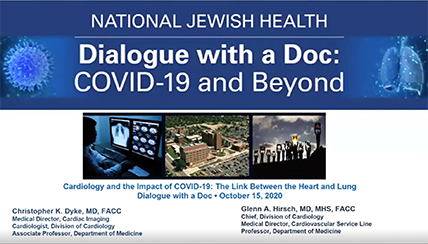 Cardiology and the Impact of COVID-19: The Link Between the Heart and the Lung