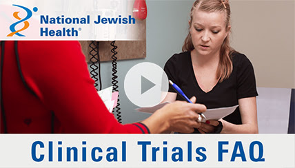 What is Clinical Research? FAQs Answered by National Jewish Health