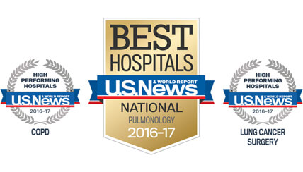 National Jewish Health Respiratory Care Recognized by U.S. News & World Report