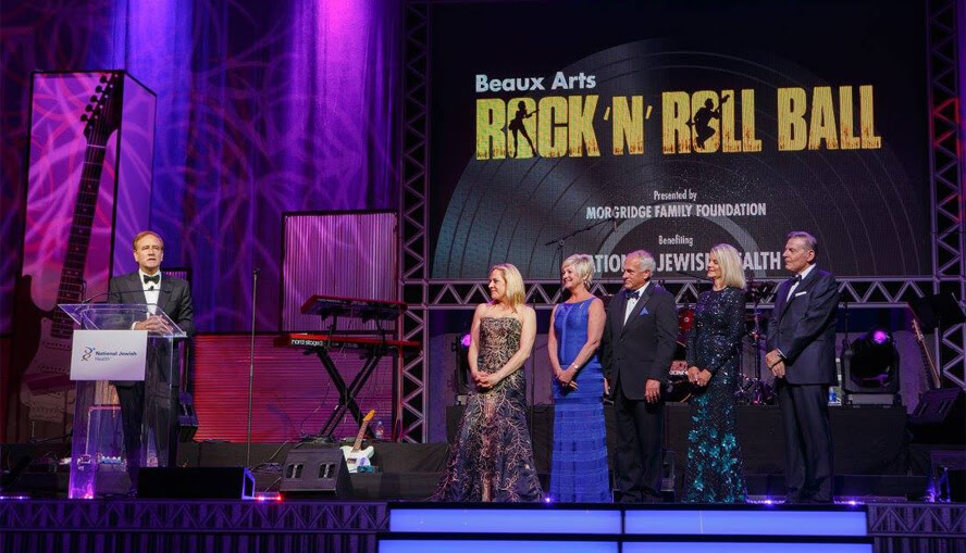 Beaux Arts Rock 'N' Roll Ball Raises Over $2 Million to Benefit National Jewish Health