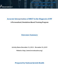 2015 Accurate Interpretation of HRCT Outcomes Cover.jpg