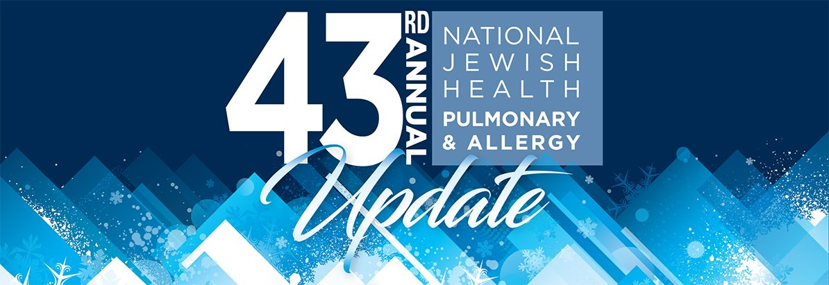 43rd Annual National Jewish Health Pulmonary and Allergy Update (Online)