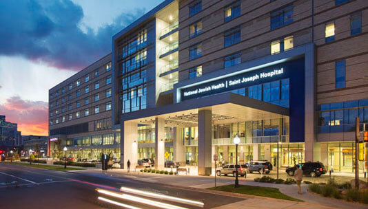 Saint Joseph Hospital in Denver, CO