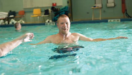 Aquatic therapy at National Jewish Health