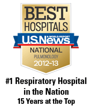National Jewish Health - # 1 in respiratory care for 15 years
