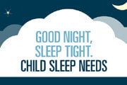 infographic: child sleep needs