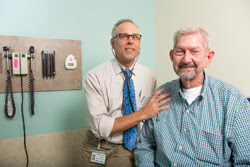 Ed Duncan helped bring hope to those with a deadly lung disease.