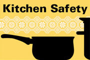 infographic: kitchen safety