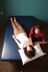 Therapeutic massage rehab services at NJH