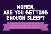 Women, Are You Getting Enough Sleep? Infographic