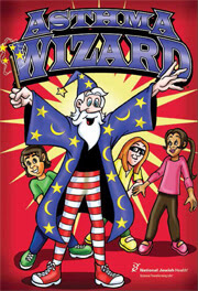 Asthma Wizard Comic Book