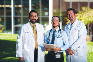 Steve Frankel, MD, Joshua Solomon, MD and Aryeh Fischer, MD