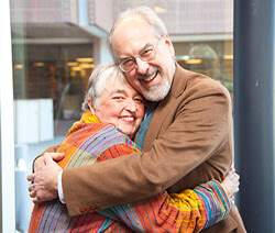 Sally Bartalot and Fred Wamboldt, M.D.