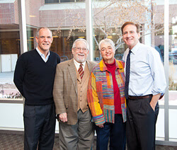 L to R: Thomas Gart, Robert Bartalot, Sally Bartolot and Michael Salem, M.D., National Jewish Health President and CEO