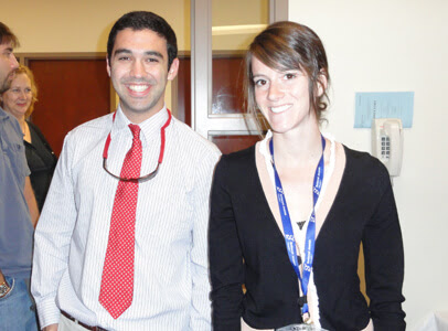 Tom Gethin-Jones and Deanna Richert, Research Assistants