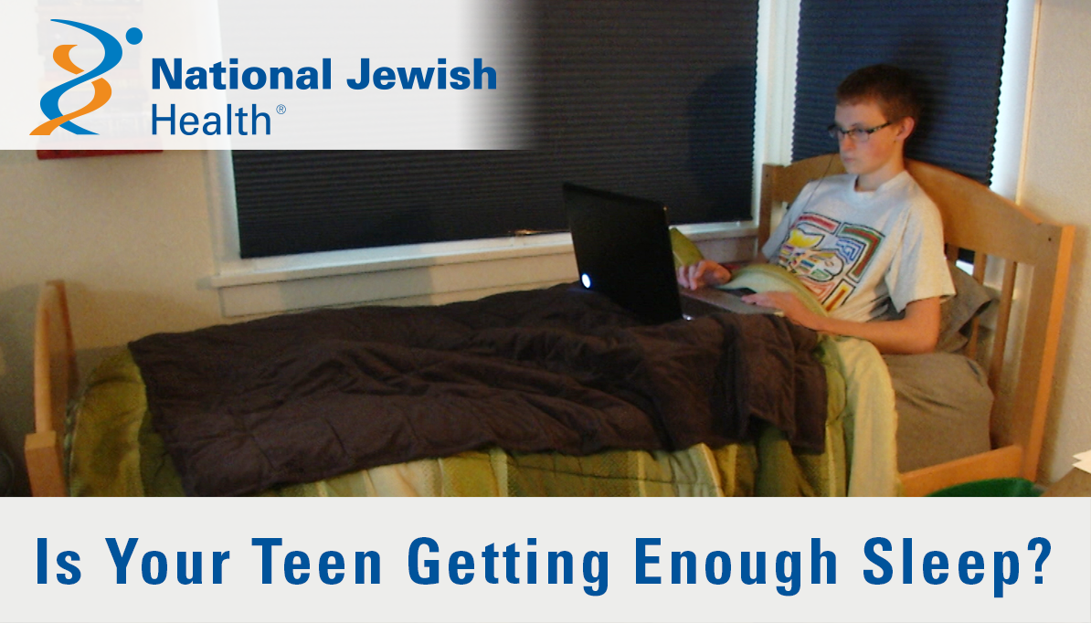 Is Your Teen Sleeping Enough 13