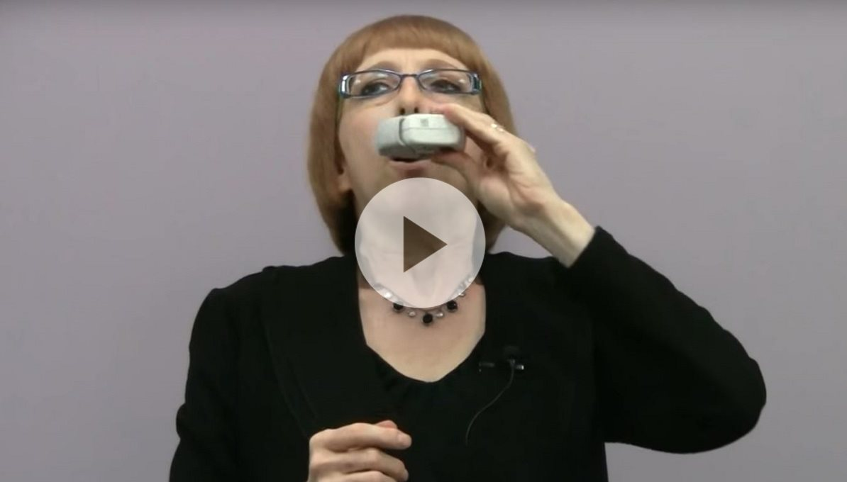 Using the Ellipta Inhaler Device