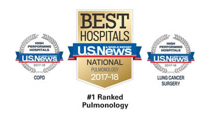 National Jewish Health Ranked Nation's #1 Respiratory Hospital