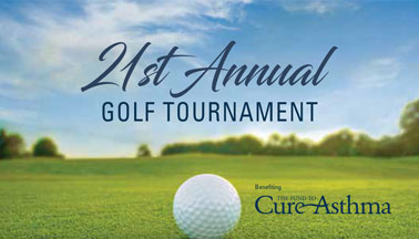 21st Annual Golf Tournament benefiting the Fund to Cure Asthma