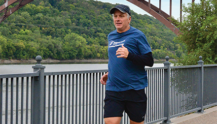 Former Asthma Patient Runs 100th Half-Marathon for National Jewish Health