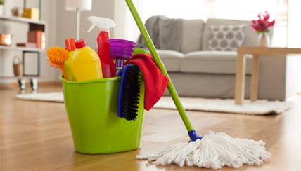 Indoor Air Pollution: Cleaning Supplies