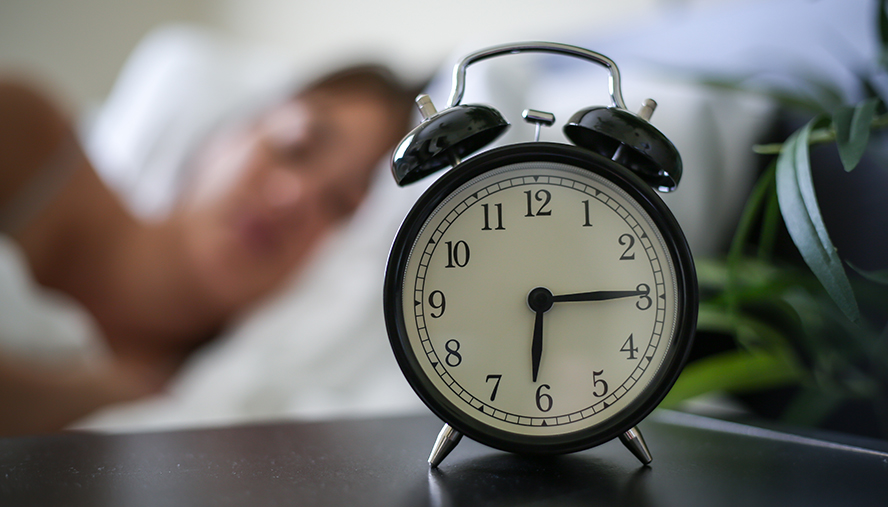 Create a consistent sleep schedule.
