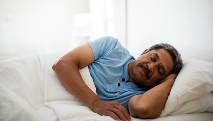 Living with a sleep disorder