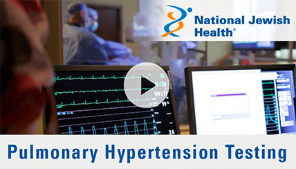 How is Pulmonary Hypertension Diagnosed at National Jewish Health?