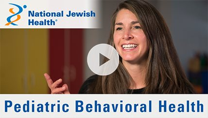 What is Pediatric Behavioral Health Care at National Jewish Health?