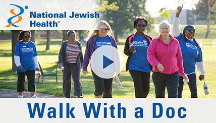 Walk With A Doc Transforms Lives