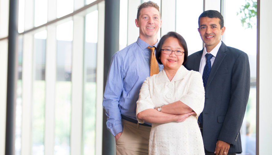 Michael Wechsler, MD, MMSc; Ronina Covar, MD; and Rohit Katial, MD; are directing the Cohen Family Asthma Institute in its search for a cure for asthma.