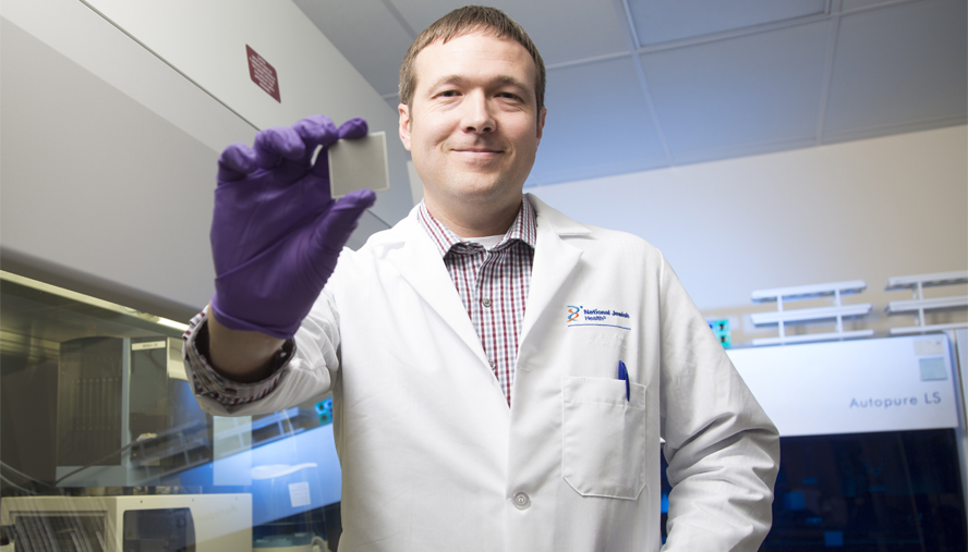 Advanced genetic sequencing allows Max Seibold, PhD, and National Jewish Health to delve into the biological roots of asthma.