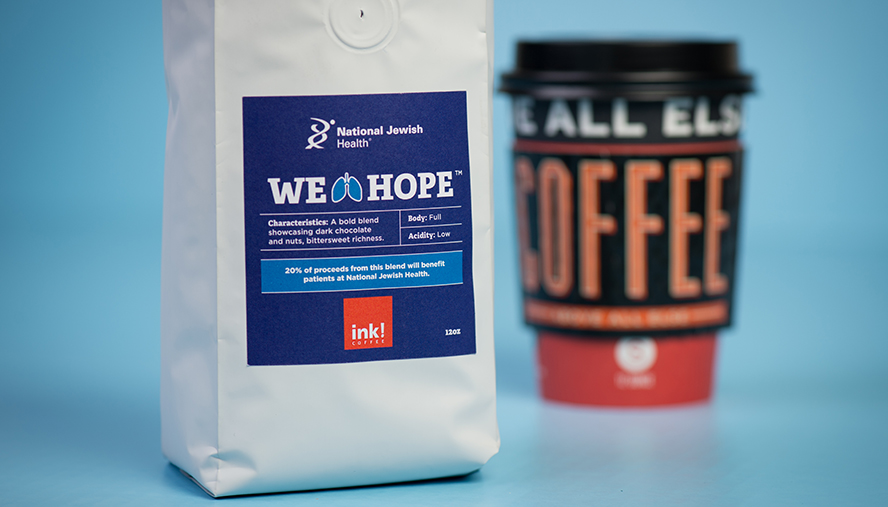 ink! Coffee Introduces Special Coffee Blend to Benefit National Jewish Health