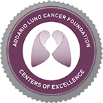 Today the Bonnie J. Addario Lung Cancer Foundation (ALCF) awarded National Jewish Health, the nation's leading respiratory hospital, and SCL Health, a $2.6 billion health system in Colorado and Montana, the official designations as community hospital Centers of Excellence (COE) for lung cancer treatment.
