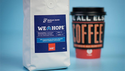 "ink! Coffee Releases Limited Edition ""We Breathe Hope"" Coffee for Holiday Season to Benefit National Jewish Health"