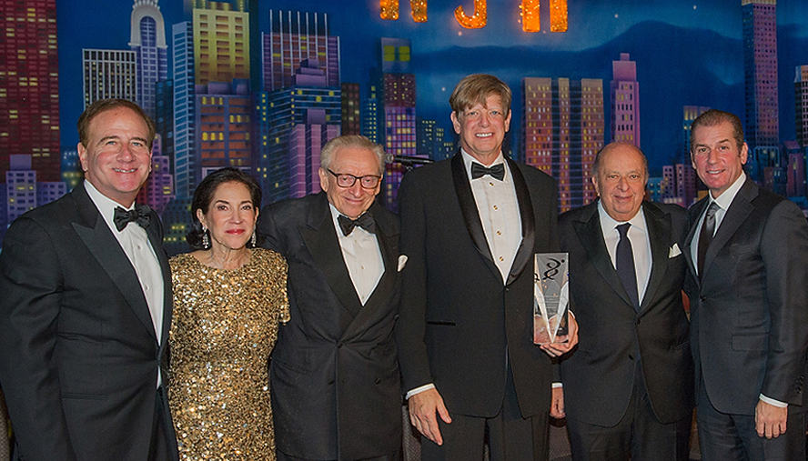From left to right: Michael Salem, MD; Wendy Siegel; Larry Silverstein; Lloyd Goldman; Stanley I. Chera; and Michael Boxer.