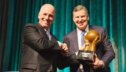 Chris Carmosino of Citizens Bank Honored at New York Financial Industries Dinner