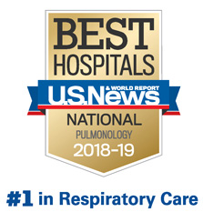 National Jewish Health Ranked Nation's #1 Respiratory Hospital By U.S. News & World Report