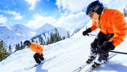 Unfortunately for people with asthma, skiing, snowboarding, ice skating and other winter sports have more than snow and ice in common - they also involve exposure to cold air.