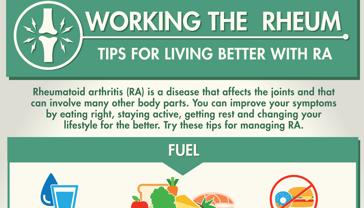 Working the Rheum: Tips for Living Better with RA