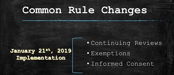 Common Rule Change