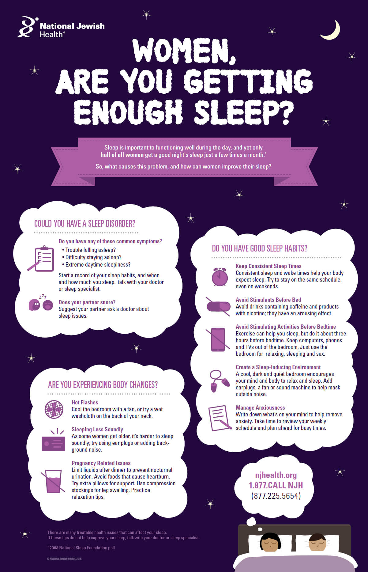 Women Are You Getting Enough Sleep Infographic